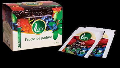 Ceai Fructe de Padure supraplic 40 g a cate 20 plicuri Larix 0