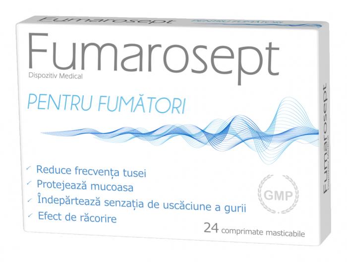 Fumarosept 24 cpr masticabile Zdrovit 0