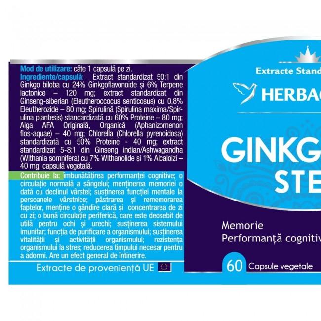 Ginkgo 120 Stem 30 cps Herbagetica 1
