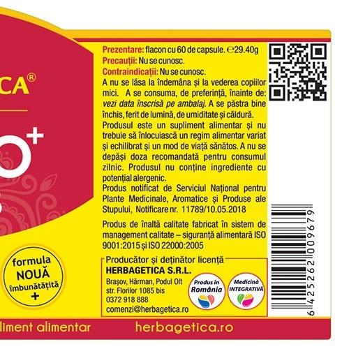 Ginkgo Curcumin 95 30 cps Herbagetica 2