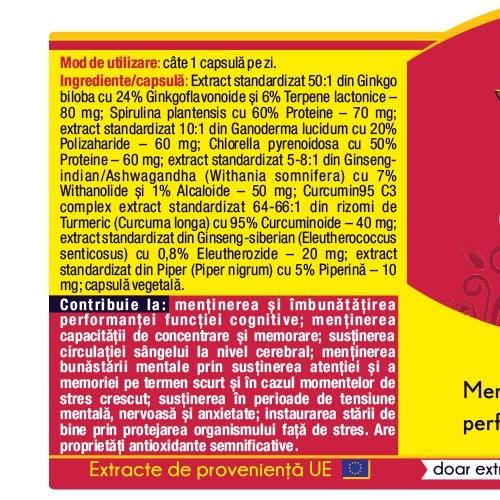 Ginkgo Curcumin 95 30 cps Herbagetica 1