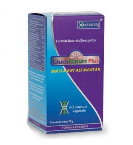 GlucoNature Plus x 60 cps DarmaPlant 0