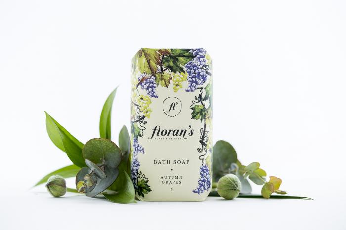Sapun Grapes (Struguri) - Parfumul tinereții x 200 g Florans 0