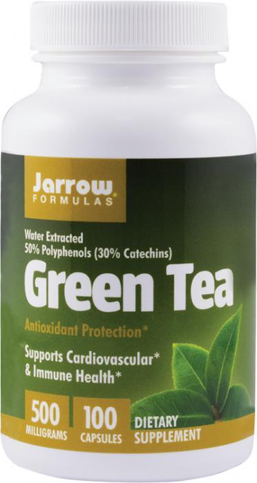 Green Tea 500 mg x100 cps Secom 0