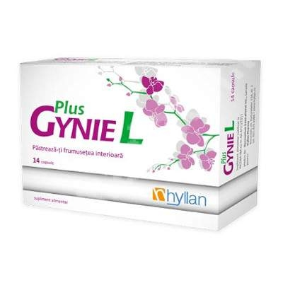 Hyllan Gyniel Plus x 14 cps - Hyllan Pharma 0