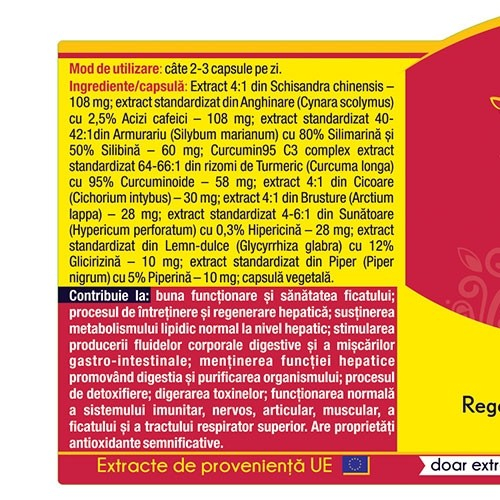 Hepato Curcumin 95 120 cps Herbagetica 1
