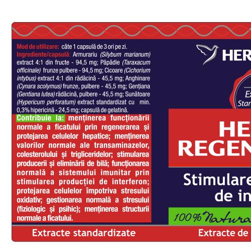 Hepato Regenerator 60 cps Herbagetica [1]