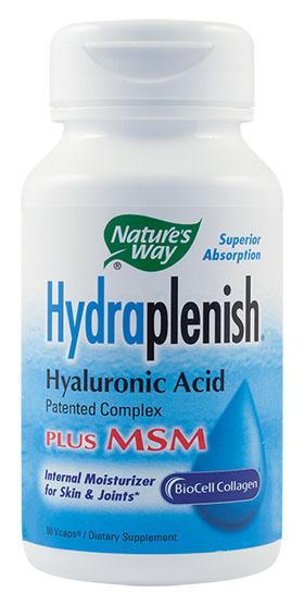 Hydraplenish Plus MSM 60 cps Secom 0