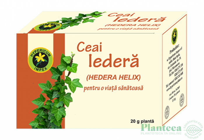 Ceai Iedera Vrac 20g Hypericum Plant 0