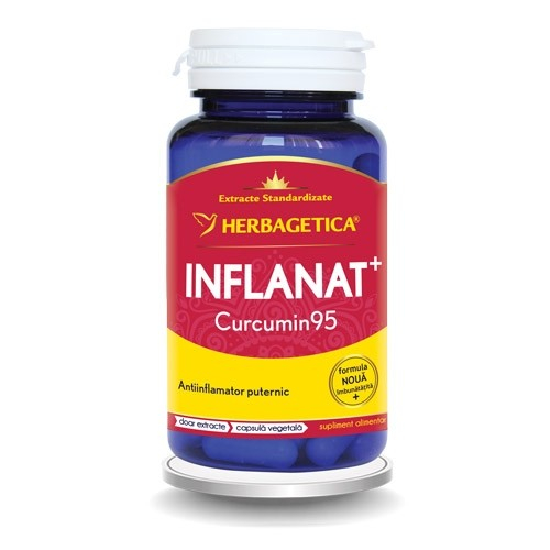 Inflanat Curcumin 95 30 cps Herbagetica [0]