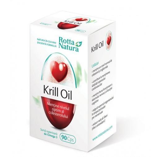 Krill Oil 90 cps Rotta Natura 0