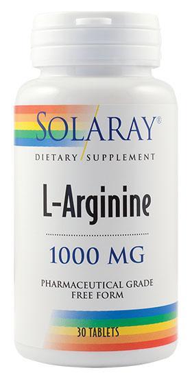 L-Arginine 1000 mg 30 tb Secom 0