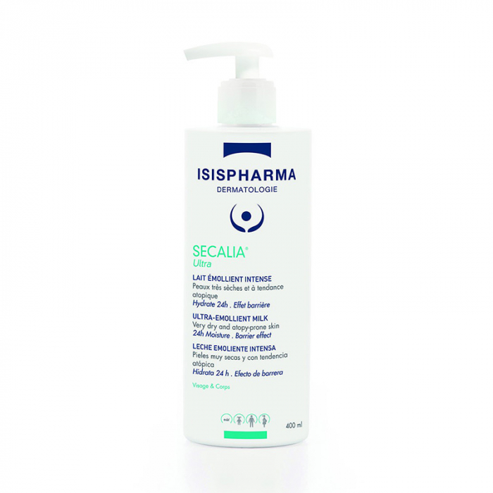 Lapte emolient intens hidratant 400 ml Secalia ULTRA  ISIS PHARMA 0