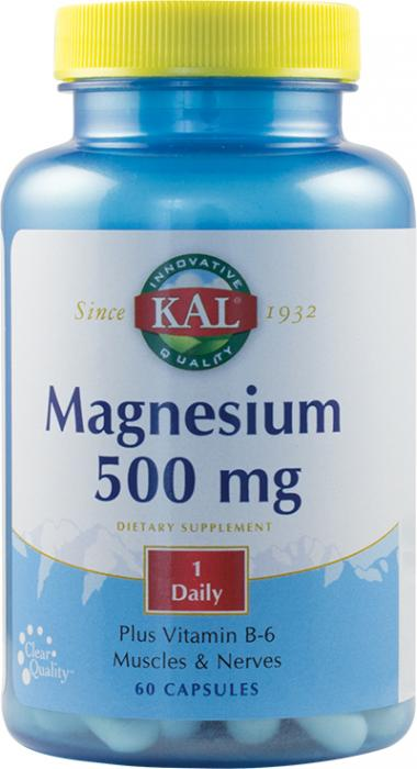 Magnesium 500 mg x60 cps Secom 0
