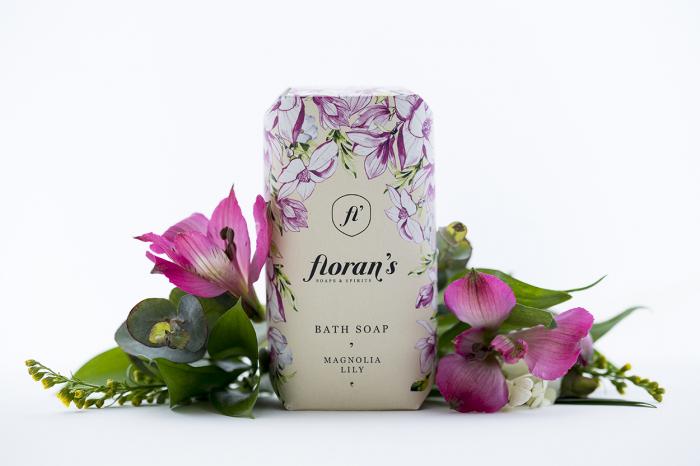 Sapun Magnolia / lily (Magnolie / crin) – Parfumul eleganței x 200 g Florans 0