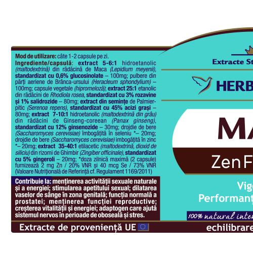 Man Zen Forte 30 cps Herbagetica 1
