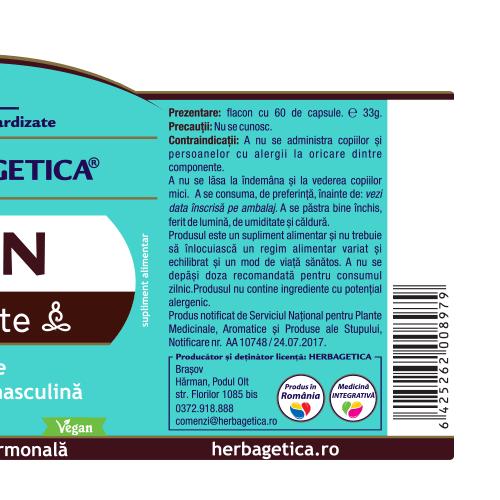 Man Zen Forte 30 cps Herbagetica 2
