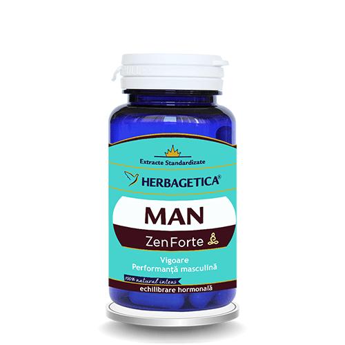 Man Zen Forte 30 cps Herbagetica 0