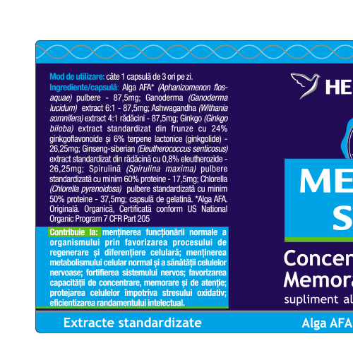 Memory Stem 60 cps Herbagetica 1