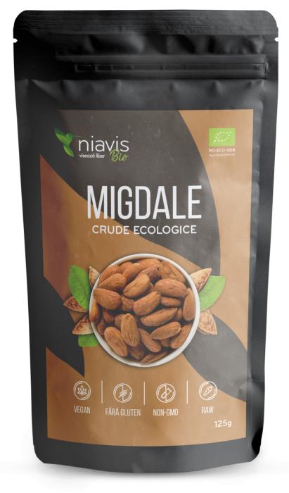 Migdale Crude Ecologice  125 g Niavis 0