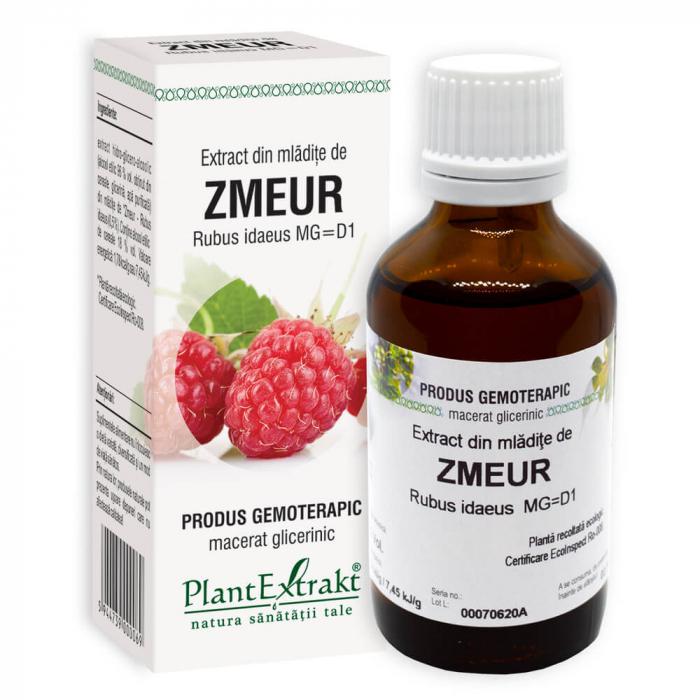 Extract din mladite de ZMEUR ( Rubus idaeus MG = D1 ) 50ml Plant Extrakt 0