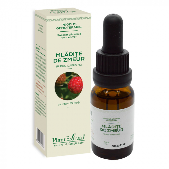 CONCENTRAT din mladite de zmeur ( Rubus idaeus ) 15 ML Plant Extrakt 0