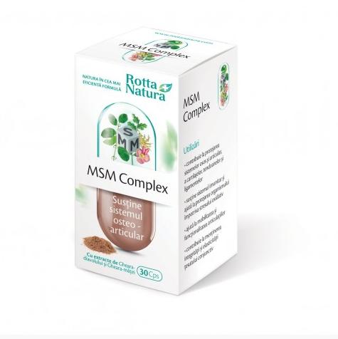 Msm Complex 30 cps Rotta Natura 0