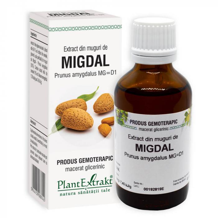 Extract din muguri de MIGDAL ( Prunus amygdalus MG = D1 ) 50ml Plant Extrakt 0