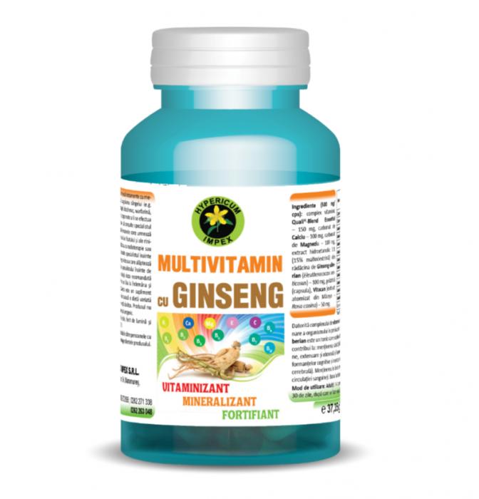 Multivitamin si Ginseng 60 cps Hypericum 0