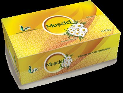 Ceai Musetel 100 plicuri Larix 0