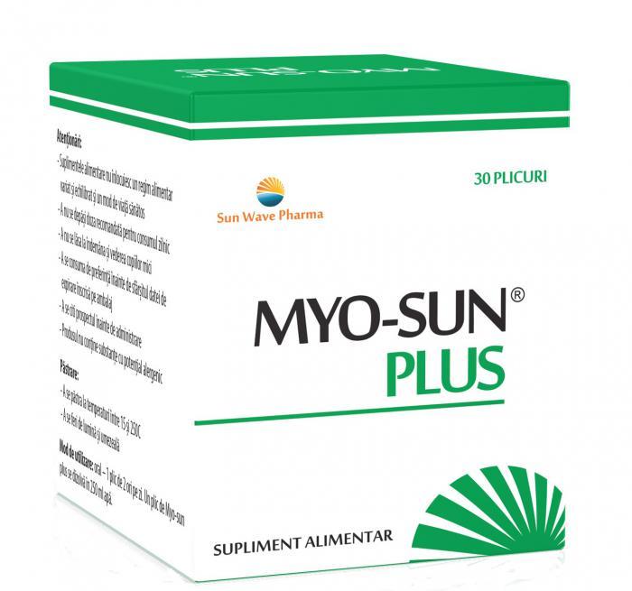 Myo-Sun Plus 30 plicuri Sun Wave 0