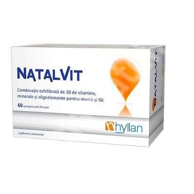 Hyllan Natalvit x 60 cpr - Hyllan Pharma [0]