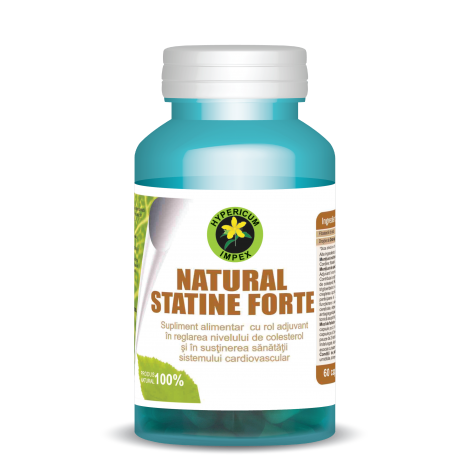 Natural Statine Forte 60 cps Hypericum 0