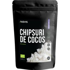 Cipsuri de Cocos RAW Ecologice x125 g Niavis [0]