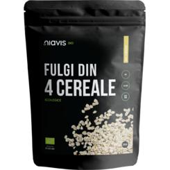 Fulgi din 4 Cereale Ecologice/BIO x350g 0