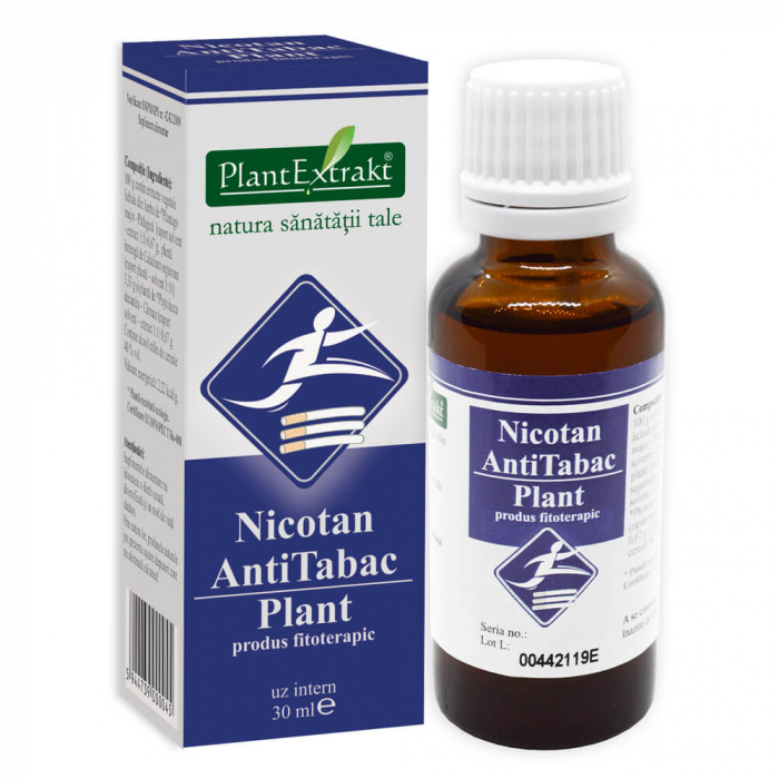 NICOTAN ANTITABAC PLANT 30ML soluțiePlant Extrakt 0