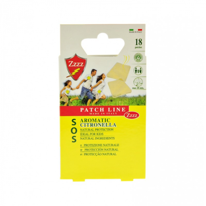 Plasturi cu Citronella 18 buc - Minut - [0]