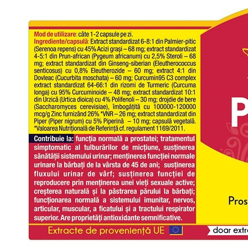 Prostato Curcumin 95 120 cps Herbagetica [1]