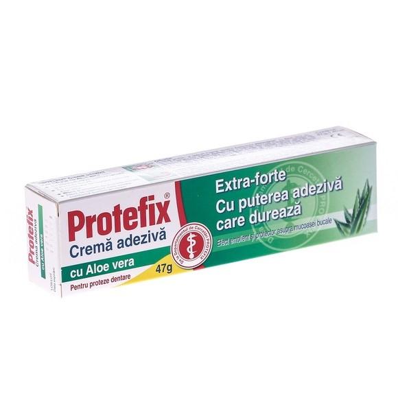 Protefix Cremă Adezivă cu Aloe Vera 40 ml Queisser Pharma 0