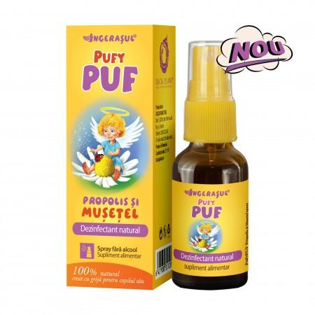 Ingerasul Pufy Puf Propolis si Musetel Spray 20 ml Dacia Plant 0