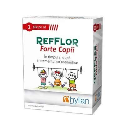 Hyllan Refflor Forte copii x 10 pl - Hyllan Pharma 0