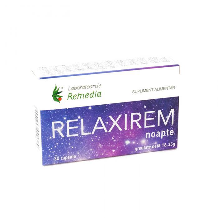 Relaxirem Noapte 30 cpr Remedia 0