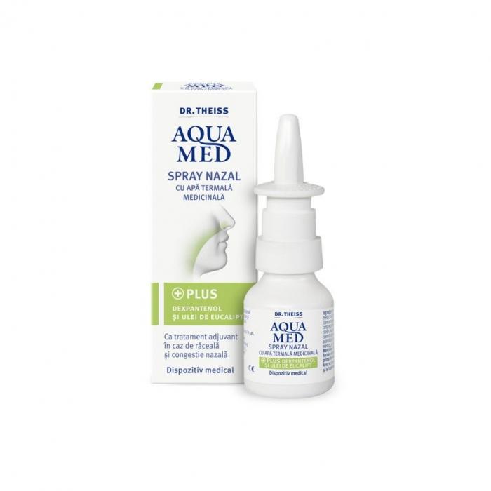 Aquamed Spray Nazal Cu Ulei De Ecualipt x200 ml Zdrovit [0]