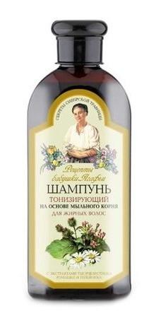 Bunica Agafia - Sampon Tonifiant pentru Par Gras x 350 ml 0