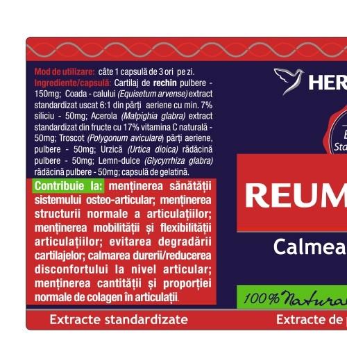 Reumatofit 120 cps Herbagetica #hai_la_miscare [1]
