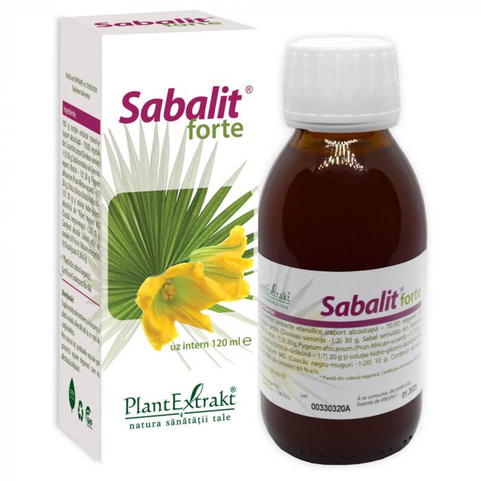 SABALIT  forte 120 ML- Fitoterapice - Plant Extrakt 0