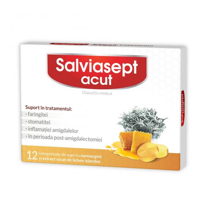 Salviasept 12 cpr Zdrovit 0