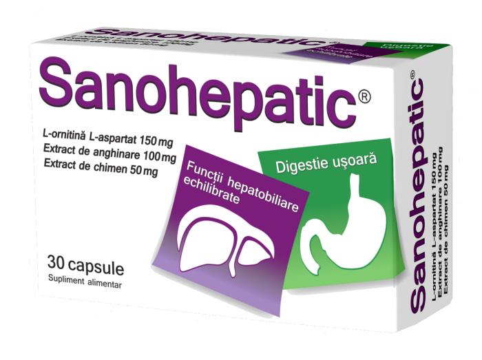 Sanohepatic 30 cps Zdrovit 0