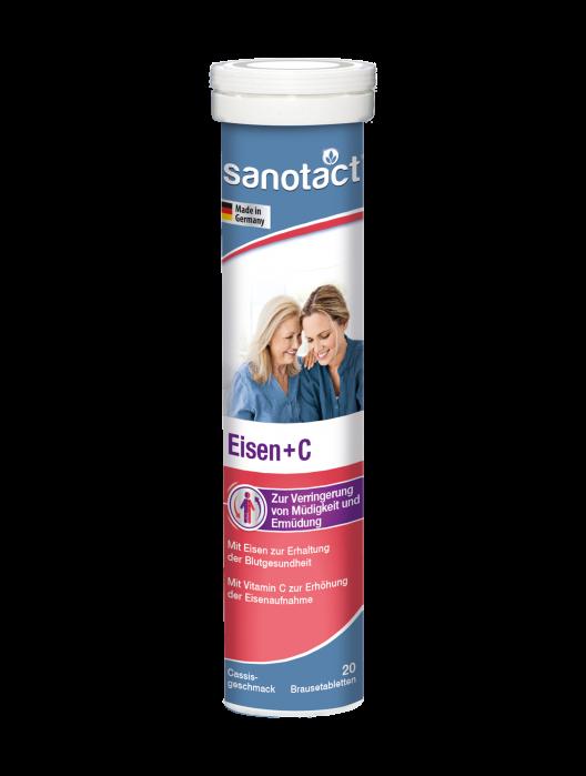 Sanotact  Fe+Vitamina C Sanatatea Femeilor tab. eferv. [0]
