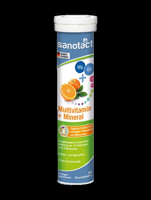 Sanotact Multivitamine+Minerale tab. eferv.  Sanotact [0]